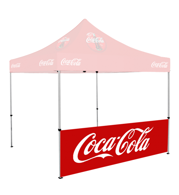 Custom Printed Tent Roof & Walls